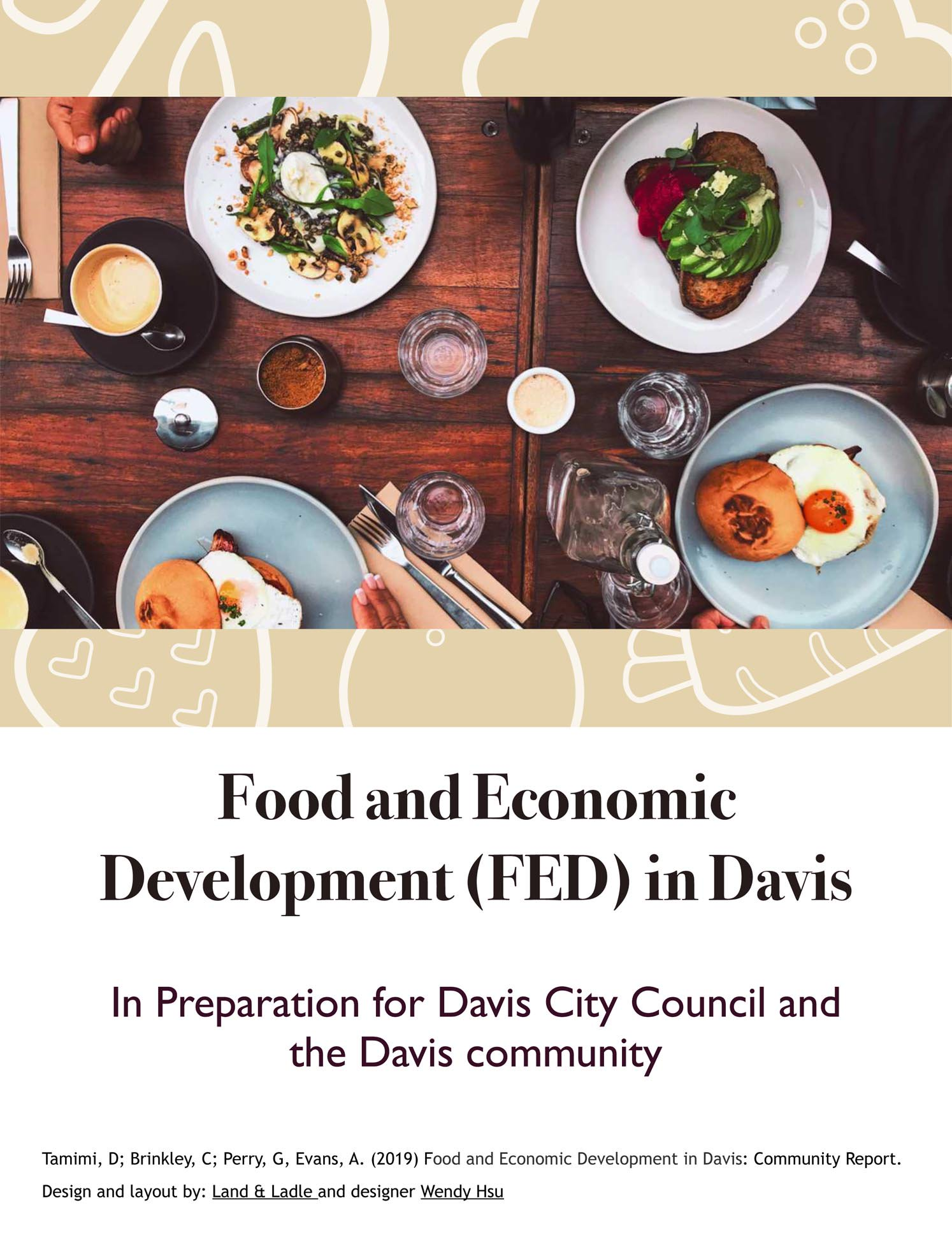 Food and Economic Development (FED) in Davis logo